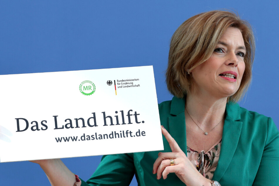 Landwirtschaftsministerin Julia Klöckner (47, CDU) hat den Bauern Unterstützung zugesichert.