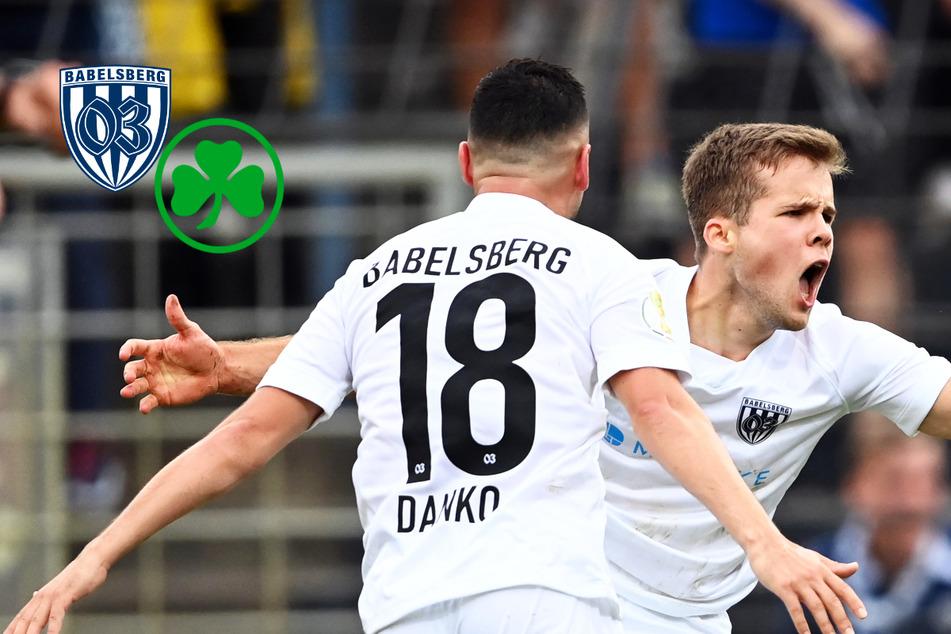 Elfer-Wahnsinn! SV Babelsberg 03 haut Fürth raus und sorgt für Mega-Sensation