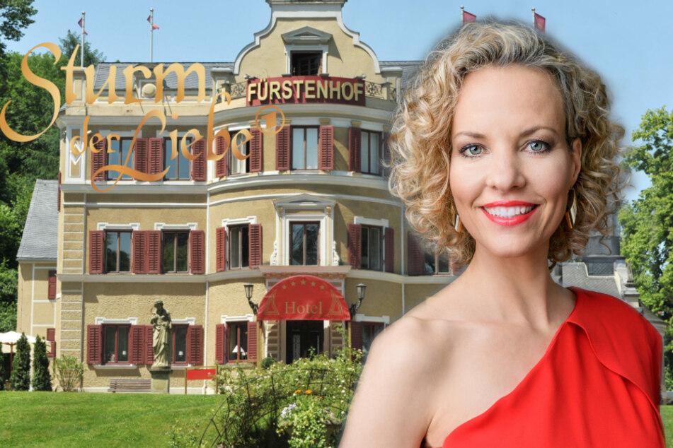 Sturm der Liebe: Melanie Wiegmann spielt seit 2012 die extrovertierte Natascha Schweitzer.
