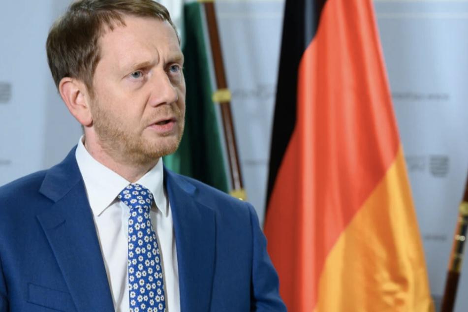 """Laut Regierungs-Chef Michael Kretschmer (45, CDU) erlauben sich die Einwohner Sachsens """"zu viel Unachtsamkeit"""" beim Kampf gegen das Coronavirus."""