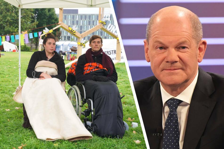 Nach Hungerstreik: Scholz trifft sich mit Klimaaktivisten