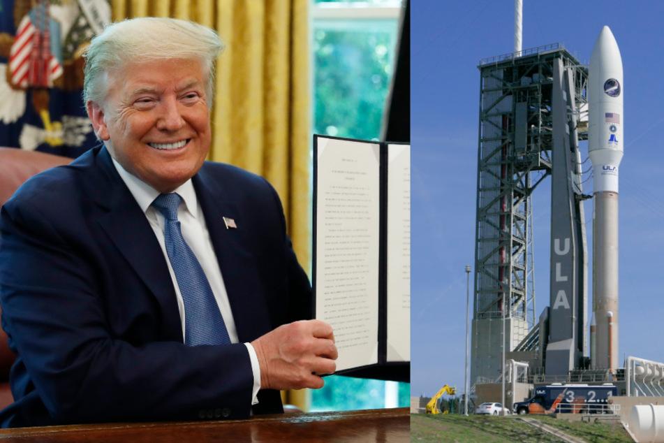 """Technik vom Feinsten: Trump prahlt mit neuer """"Super-Duper-Rakete"""""""