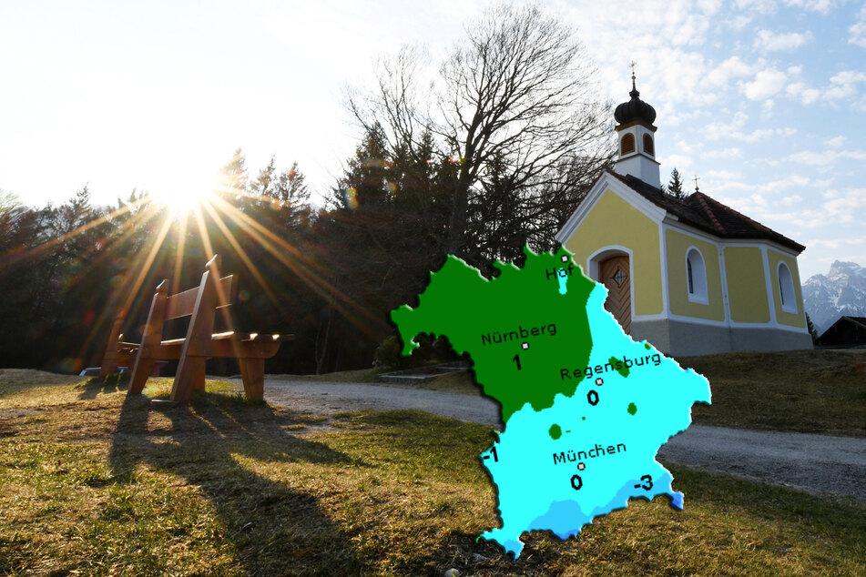 Sonnige Ostern in Bayern, doch der Schnee rückt näher