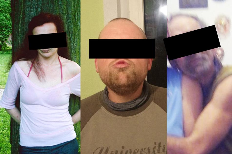 In U-Haft: Stefanie W. (30, l.), Stefan B. (28, M.), Andreas R. (51, r.) sowie eine weitere Täterin.