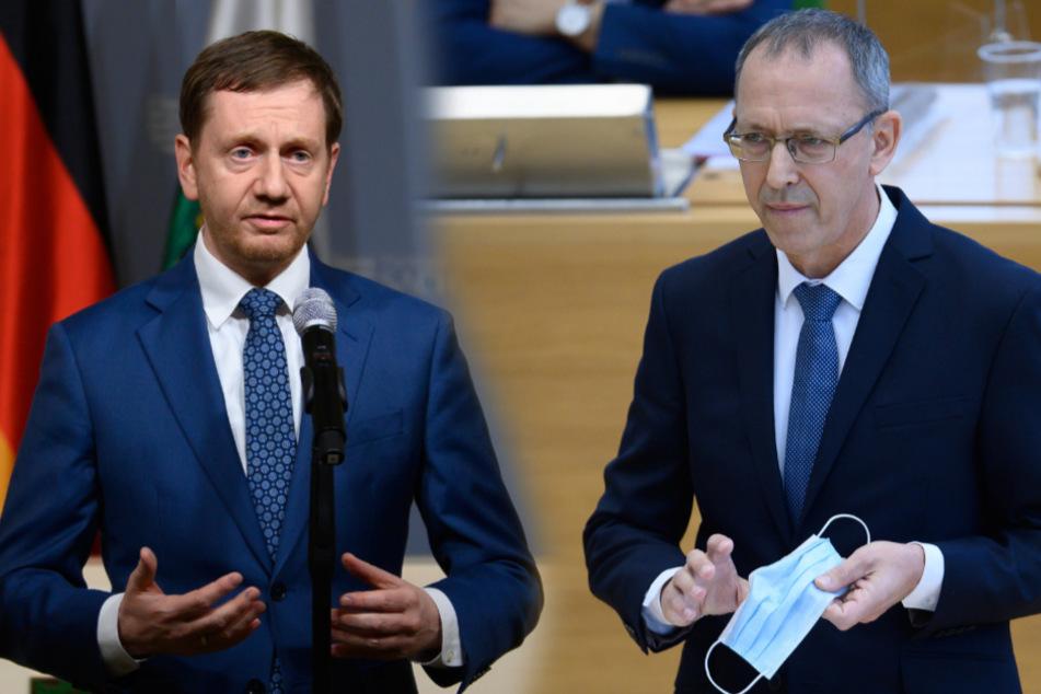 Zoff wegen Corona-Beschränkungen in Sachsen: AfD äußert scharfe Kritik