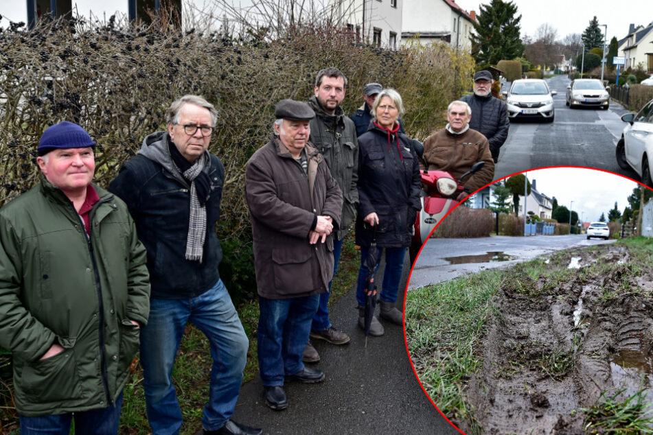 Chemnitz: Raser-Ärger in Altendorf: Anwohner fordern eine Spielstraße