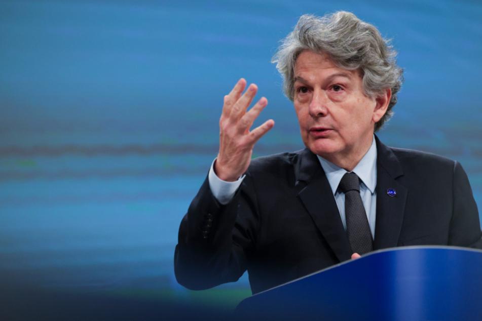 EU-Kommissar Thierry Breton.
