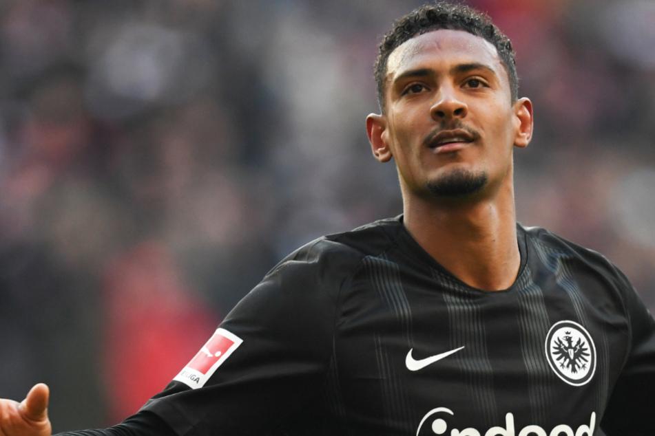 Bis zum Sommer 2019 lief Sébastien Haller für Eintracht Frankfurt auf.