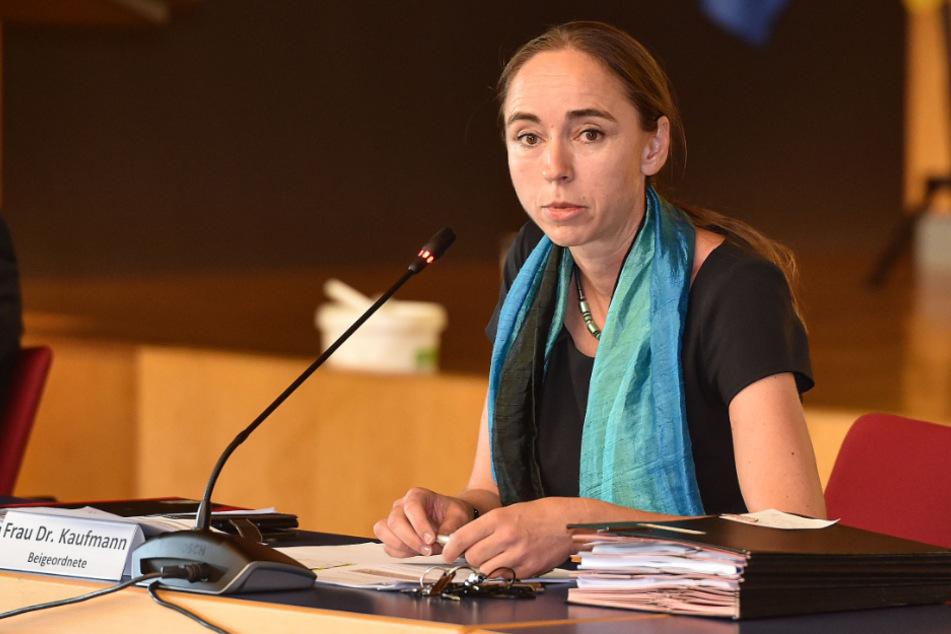 """Will die """"medizinische Versorgung über das Jahr 2035 dauerhaft auf hohem Niveau sicherstellen"""": Sozialbürgermeisterin Kristin Kaufmann (44, Linke)."""