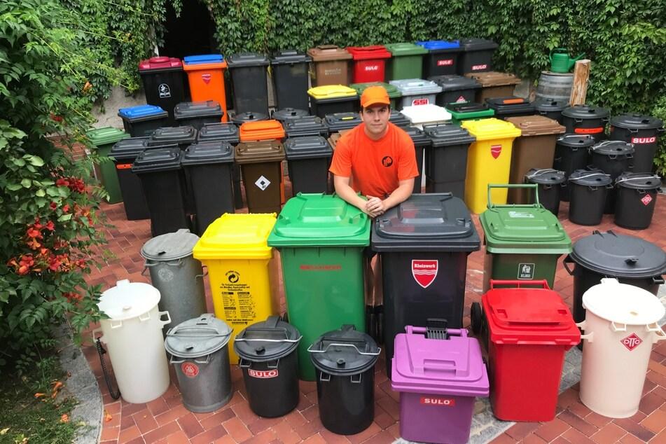 Die Jagd nach der Mülltonne: Alexander (21) hat ein skurriles Hobby