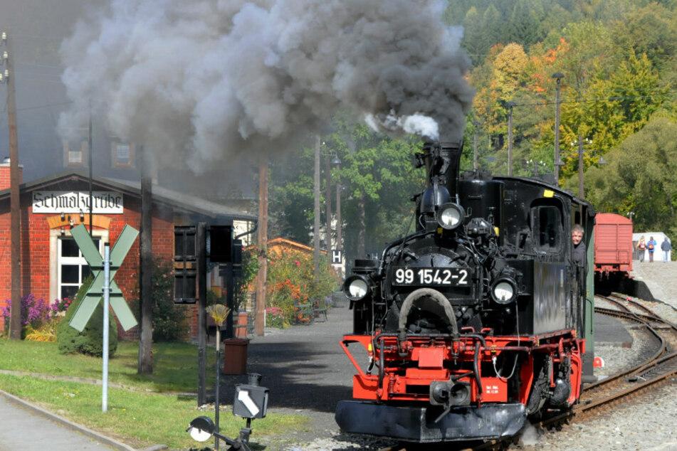 Die Preßnitztalbahn nimmt ab 9. Mai ihren Betrieb wieder auf.