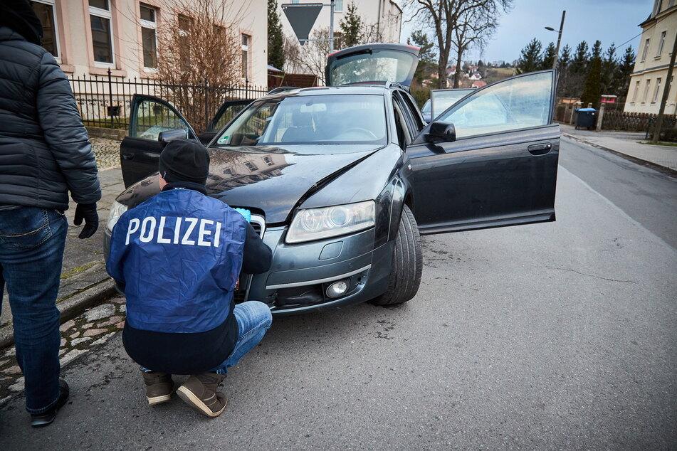 Mit diesem Audi lieferte sich Michael U. im Februar eine Verfolgungsjagd mit der Polizei.
