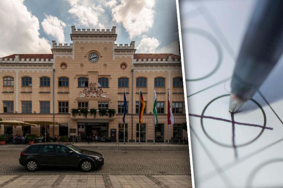 Fünf Kandidaten treten zur OB-Wahl in Zwickau an. Der gewählte Oberbürgermeister oder die gewählte Oberbürgermeisterin wird bis 2027 im Amt bleiben.