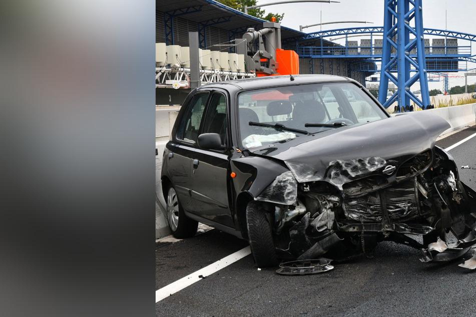 Verkehrsunfall auf A7: Fünf Fahrzeuge beteiligt