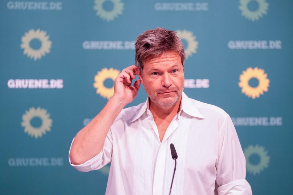 Bei den Grünen Co-Parteichef: Robert Habeck (51).