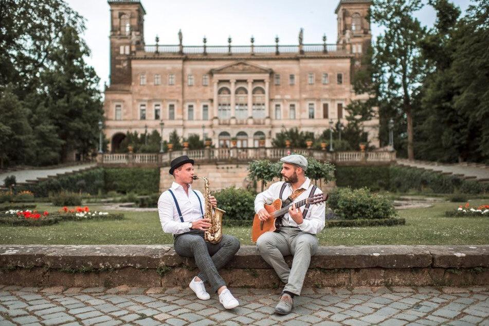 Das Schooko Duo ist die Woche zu Gast bei den Kulturinseln 2020.