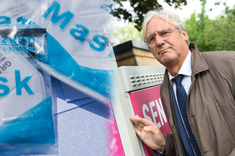 Infektiöse Corona-Masken an Darmstadts Oberbürgermeister geschickt?