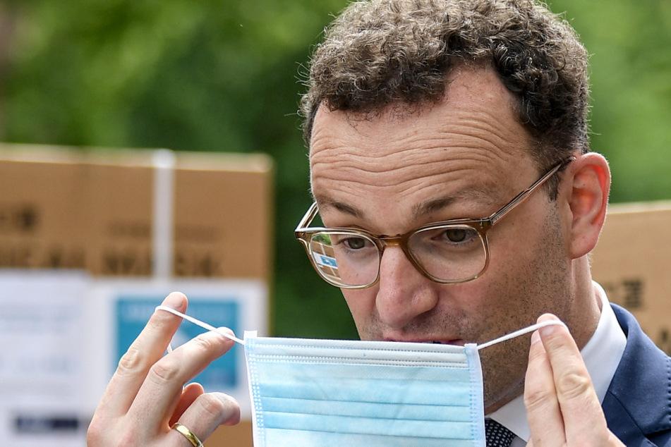 """Spahn widerspricht Masken-Gegnern: """"Freiheit kommt nie unendlich"""""""