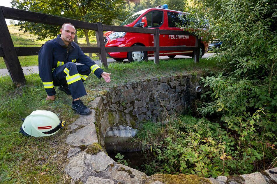 Sachsens Feuerwehren schlagen Alarm: Uns geht das Löschwasser aus!