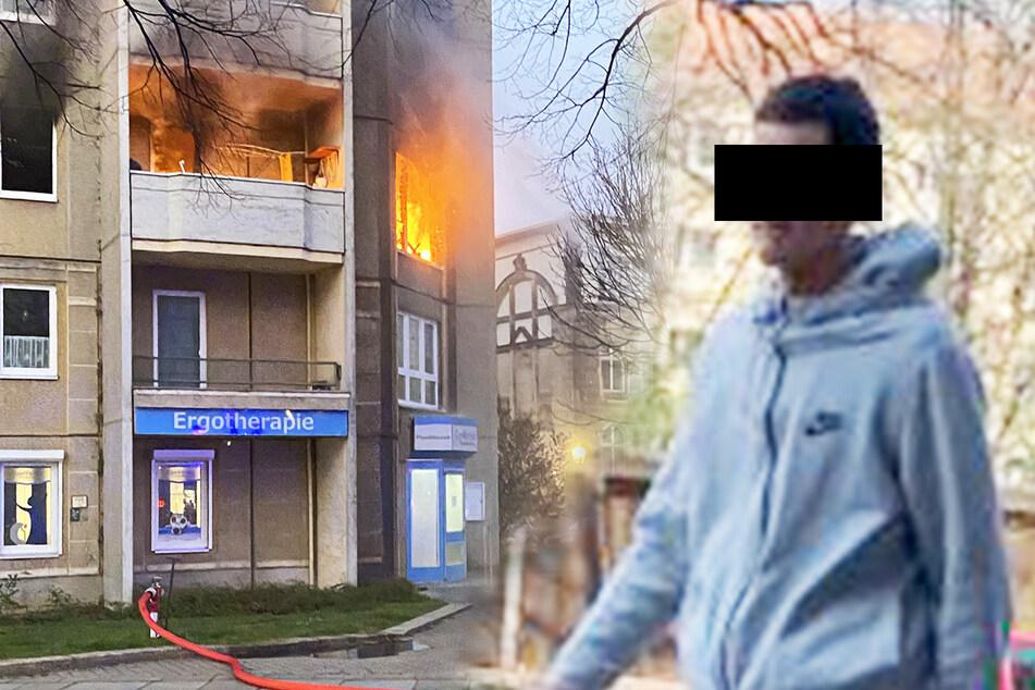 Gestern Brand gelegt und heute schon vor dem Richter: Das ist der Zündler aus der Neustadt!