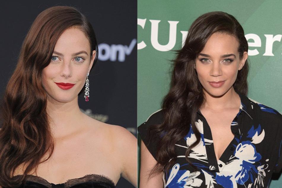 Kaya Scodelario (l.) und Hannah John-Kamen schlüpfen in die Rollen von Claire Redfield und Jill Valentine. (Archiv)