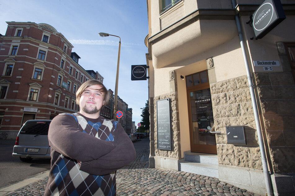 Als Stadtteilmanager freut sich René Bzdok (32) über Schweighöfers Sonnenberg-Song.