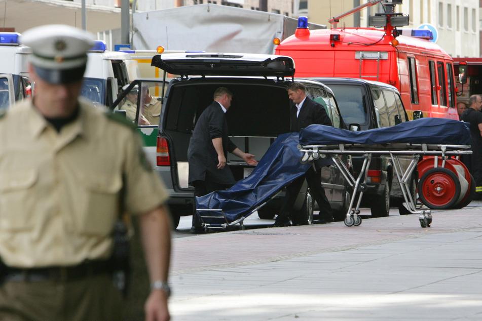 In Duisburg waren 2007 sechs Mafia-Mitglieder erschossen worden (Archivbild).