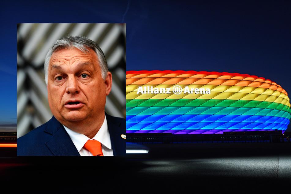 Die Stadt München wollte mit der Aktion ein Zeichen gegen die Politik der ungarischen Regierung um Ministerpräsident Viktor Orban (58) setzen.