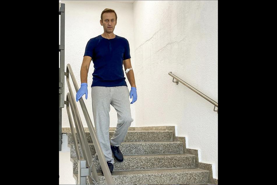 Alexej Nawalny wurde aus der Berliner Charité entlassen.