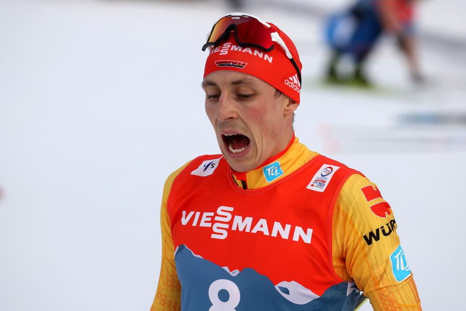 Im Einzel hatte Eric Frenzel (32) den vierten Platz belegt.