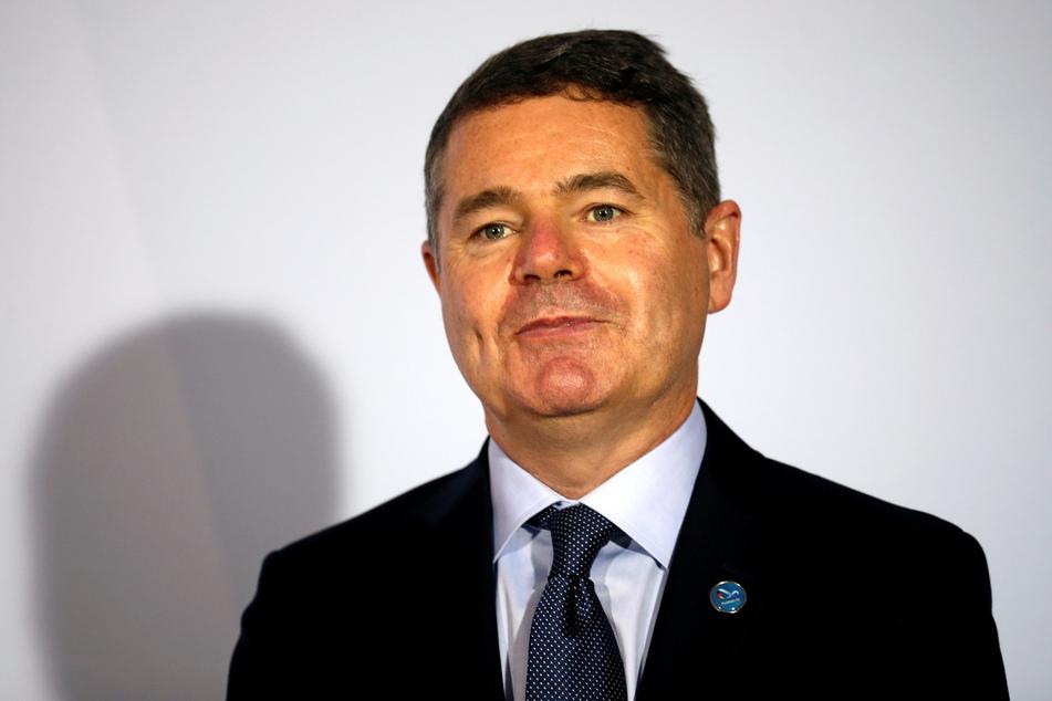 Der Präsident der Eurogruppe, Paschal Donohoe.