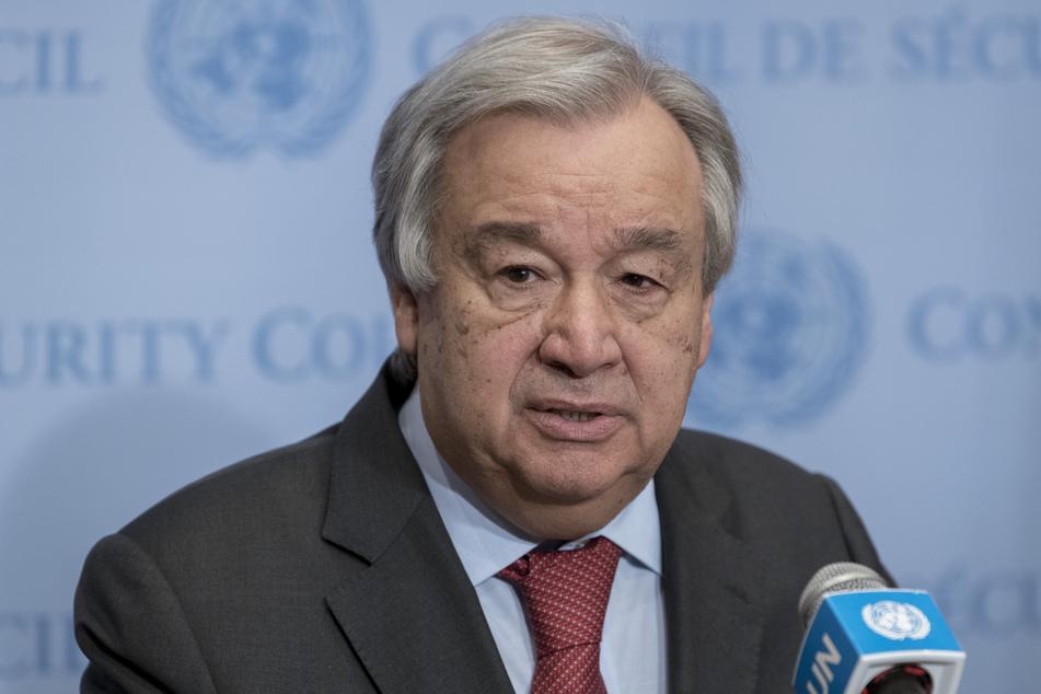 Antonio Guterres ist der Generalsekretär der Vereinten Nationen.