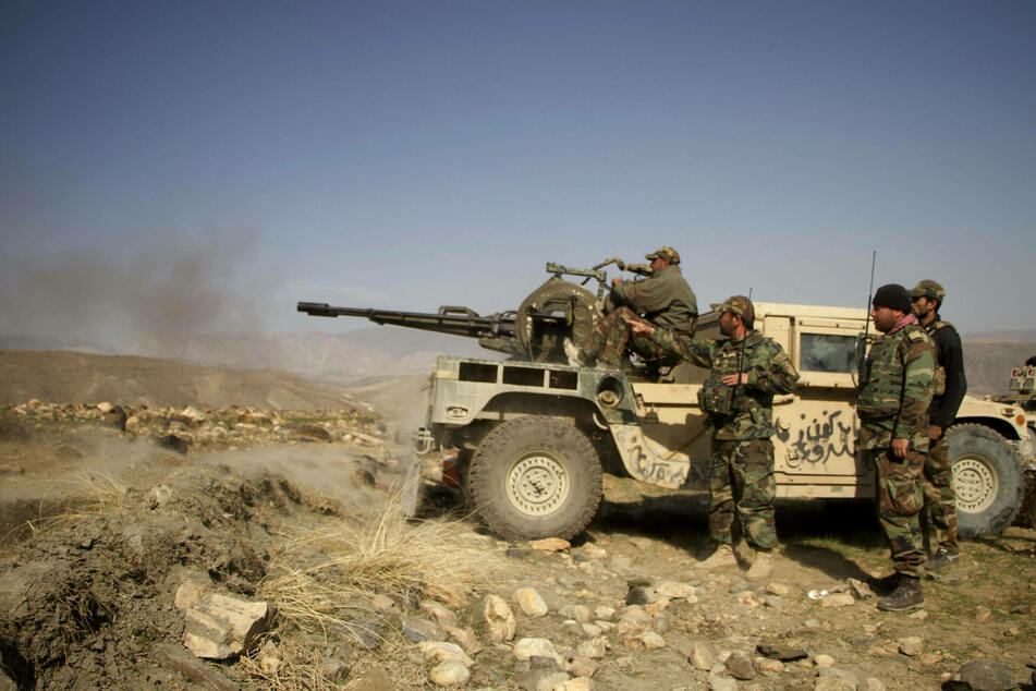 Afghan security forces are still engaged in combat with the Taliban.