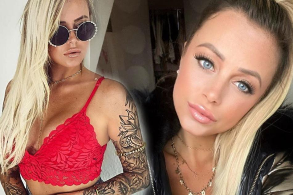 """Jade Übach (28) ist bei RTL-Zuschauern durch Shows wie """"Der Bachelor"""" bekannt. (Fotomontage)"""