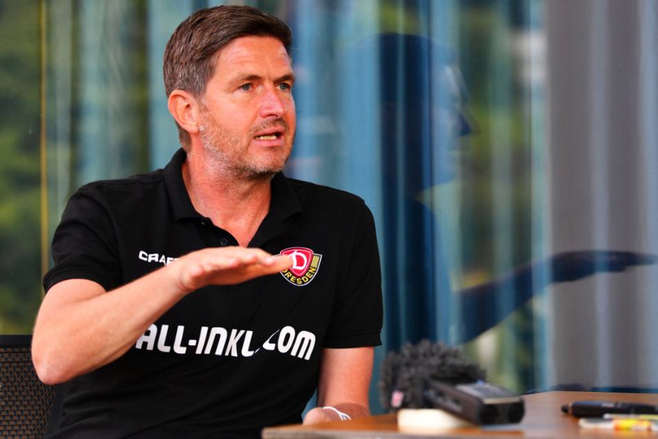 Dynamos Sportgeschäftsführer Ralf Becker ist mit dem bisherigen Saisonverlauf insgesamt zufrieden.