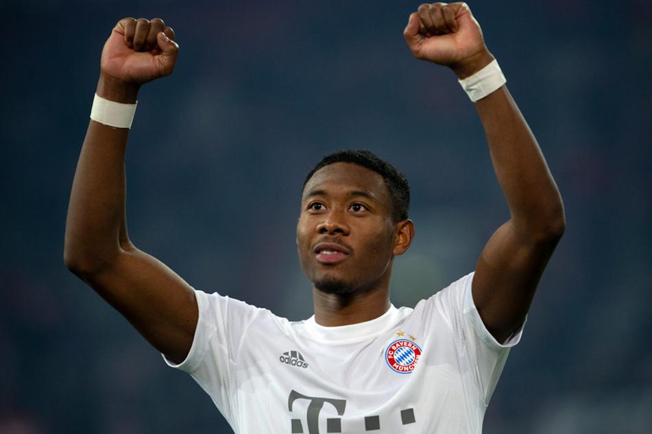 David Alaba (27) hat beim FC Bayern einen Vertrag bis Ende Juni 2021.