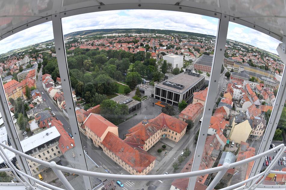 Blick in die Weimarer Innenstadt.