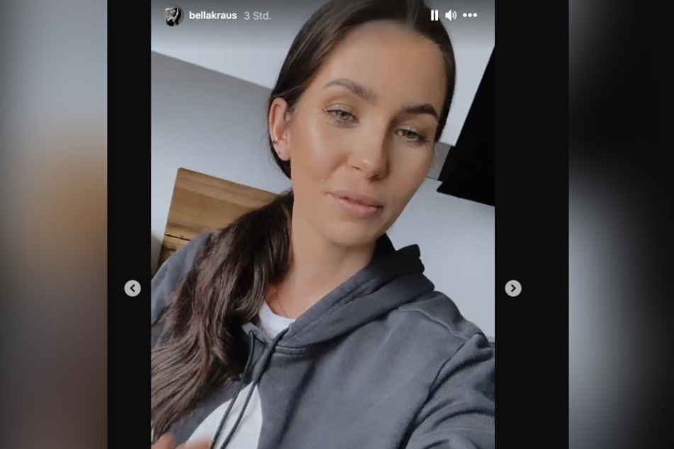 Influencerin Isabel Kraus (31) gibt ihr Aus beim Promi-Dinner bekannt.