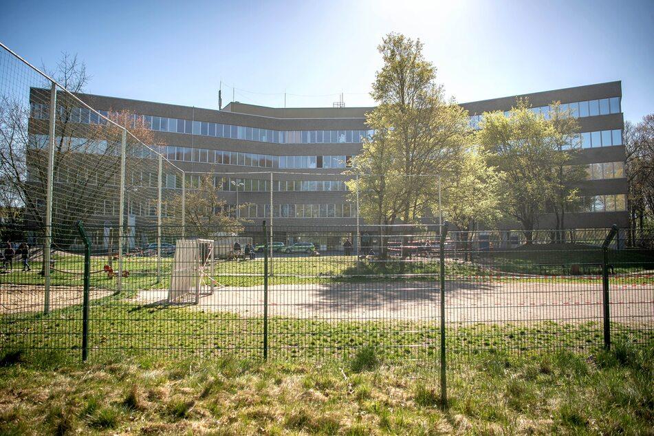 Die Zentrale Aufnahmestelle für Asylbewerber und Flüchtlinge im Lande Bremen (ZASt) im Stadtteil Vegesack.