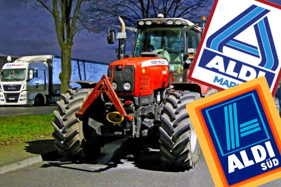 Nach Bauernprotesten: Aldi einigt sich mit der Milchindustrie auf höhere Preise