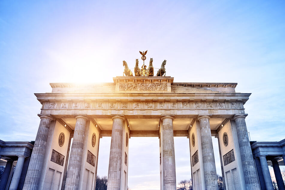 In Berlin scheint am Wochenende kräftig die Sonne.