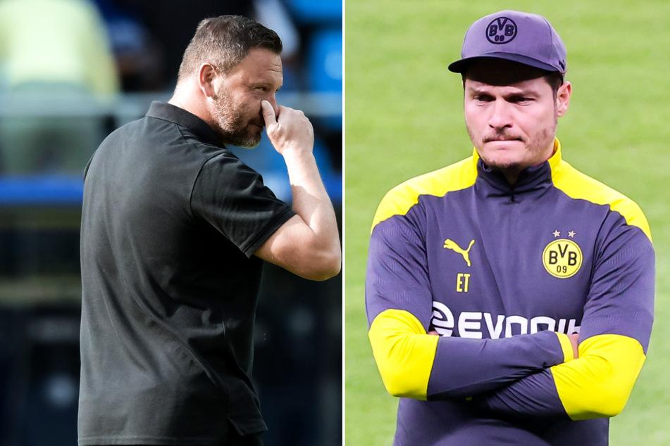 Hertha-Trainer Pal Dardai (45) stand nach dem verpatzten Saisonstart unter Druck. Edin Terzic (38) kann sich das Traineramt bei Hertha BSC offenbar nicht vorstellen.
