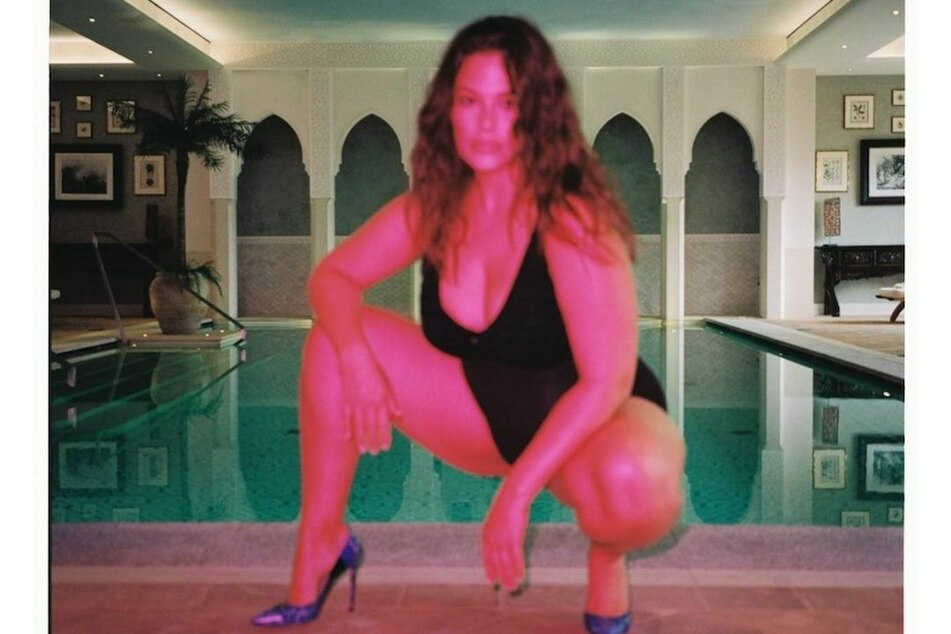 The fans of Ashley Graham are used to revealing snapshots.