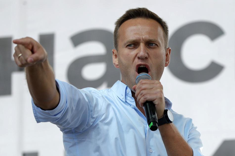 Alexej Nawalny (44) kämpft um sein Leben.