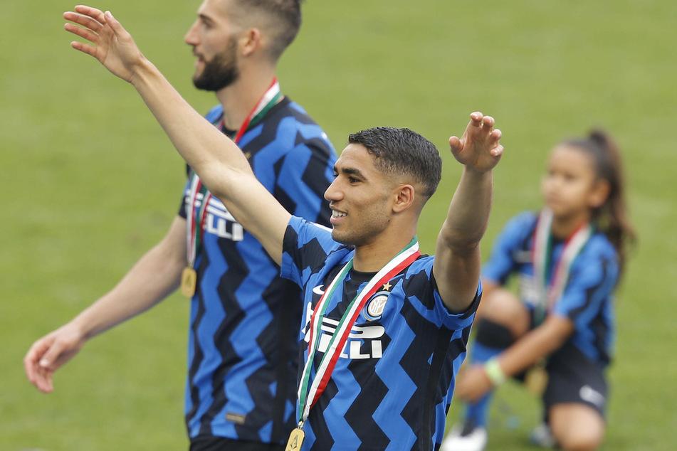 Achraf Hakimi (22) kehrt Inter Mailand nach einem Jahr und einer Meisterschaft schon wieder den Rücken.