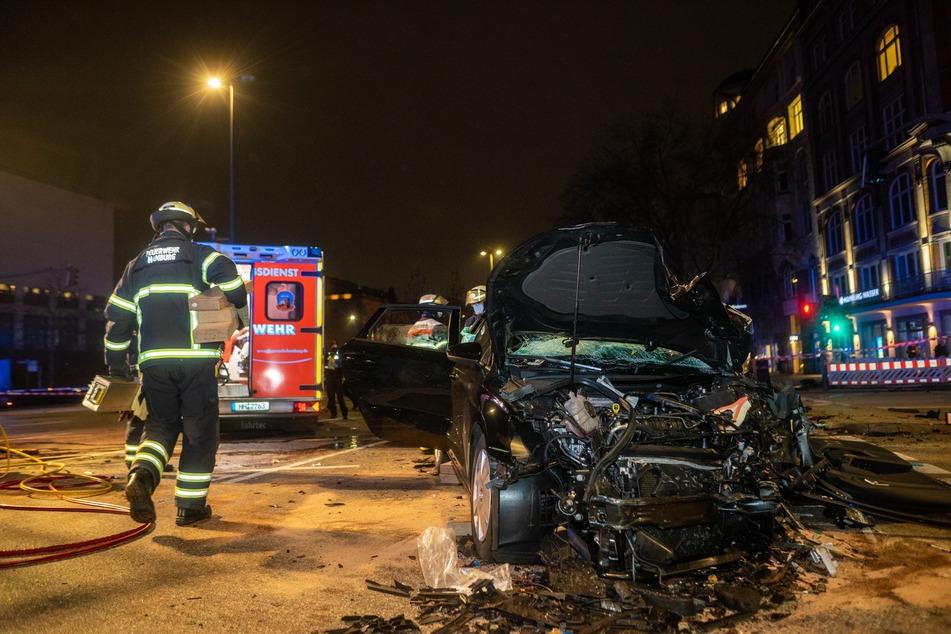 Hamburg: Nach schwerem Unfall in der Stadt: LKA ermittelt jetzt wegen versuchtem Tötungsdelikt