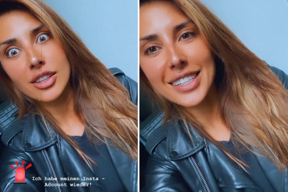 Jana Azizi (31) zieht ihren Erpresser in einem Instagram-Video zur Rechenschaft. (Fotomontage)