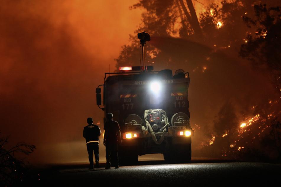 Seit zwei Wochen kämpfen die Feuerwehrleute in der Türkei gegen schlimme Waldbrände.