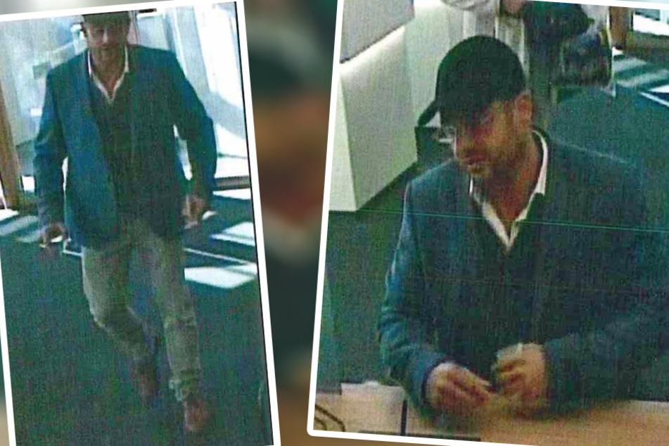 Leipzig: Er wollte 10.000 Euro mit einem gefälschten Ausweis abheben: Leipzigs Polizei fahndet nach diesem Betrüger
