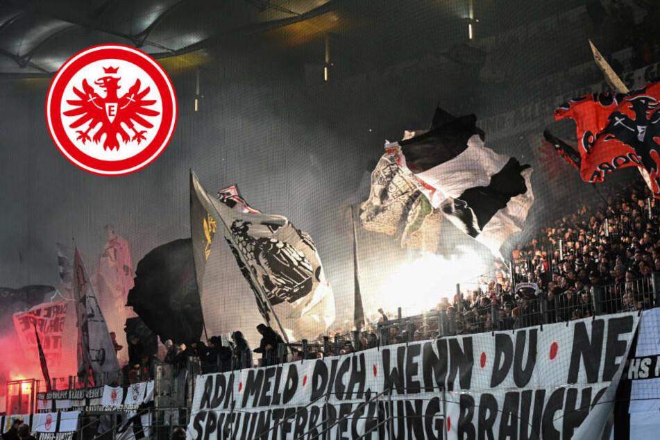 Eintracht-Fans zeigen, wie kreativer Protest gegen DFB und DFL geht